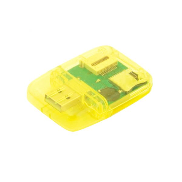 Lettore Card Ares USB 2.0. Carte: M2, MS Duo, MicroSD, SD